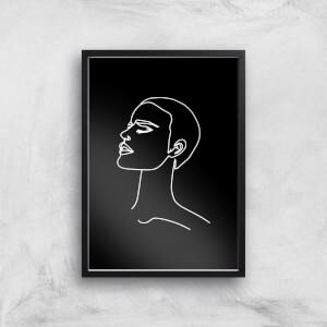 Tonight I Kept My Head Held High Giclee Art Print