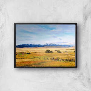 An Ocean Of Grass Giclee Art Print