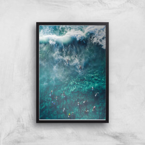 Surfing Time Giclee Art Print