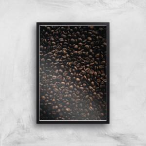 Coffee Beans Giclee Art Print