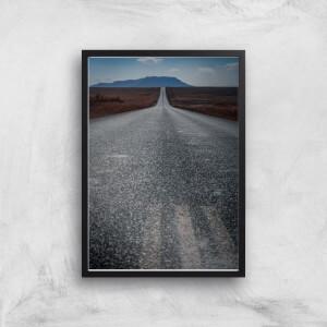 A Barren Road Giclee Art Print