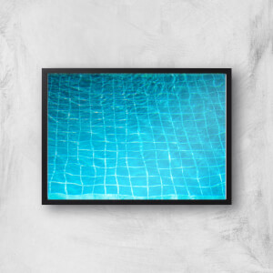 Pool Ripples Giclee Art Print