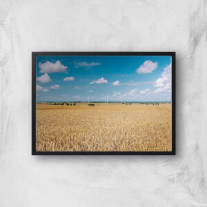 Fields Of Wheat Giclee Art Print