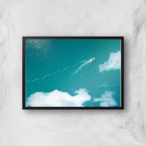 Ocean Escape Giclee Art Print