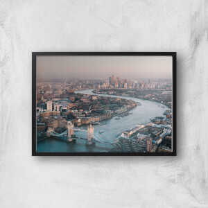 London City Giclee Art Print