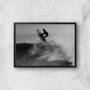 Surfing That Wave Giclee Art Print