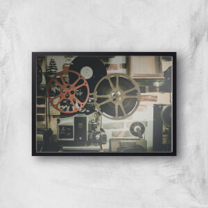 Film Reel Giclee Art Print