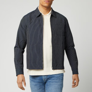YMC Men's Bowie Zip Shirt - Navy
