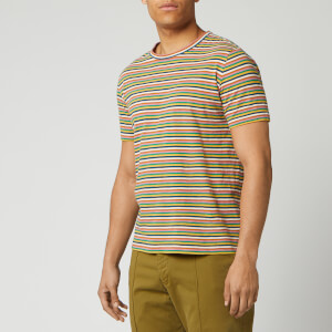YMC Men's Wild Ones T-Shirt - Multi Stripe