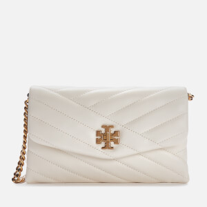 Tory Burch Women's Kira Chevron Chain Wallet - New Ivory