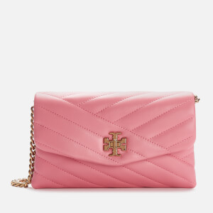 Tory Burch Women's Kira Chevron Chain Wallet - Pink City