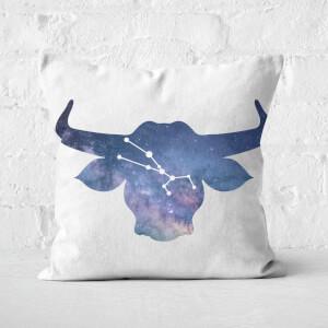 Cosmic Taurus Square Cushion