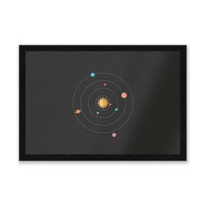 Solar System Entrance Mat