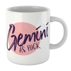 Gemini As Fuck Mug