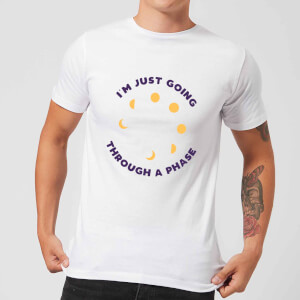 I'm Just Going Through A Phase Men's T-Shirt - White