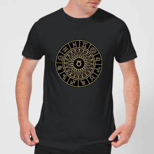 Decorative Horoscope Symbols Men's T-Shirt - Black