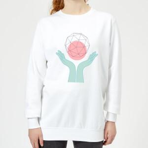 Enlightenment Women's Sweatshirt - White