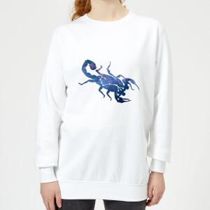Scorpio Women's Sweatshirt - White