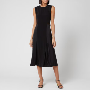 Victoria, Victoria Beckham Women's Slit Detail Dress - Black