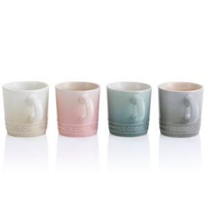 Le Creuset Stoneware Calm Collection Espresso Mugs (Set of 4)