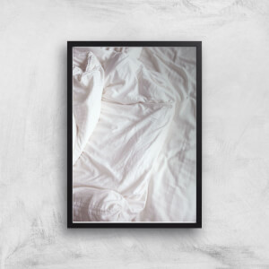 Bed Giclee Art Print