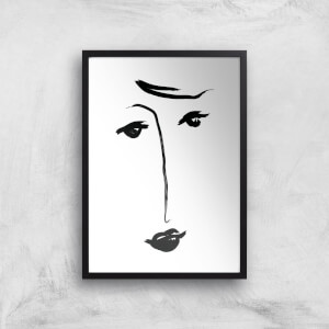 Why The Long Face Giclee Art Print