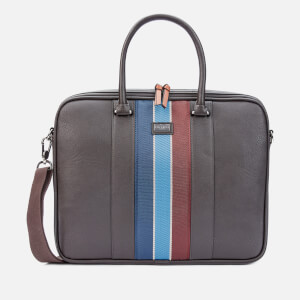 Ted Baker Men's Deals Laptop Bag - Chocolate
