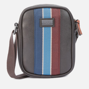 Ted Baker Men's House Mini Flight Cross Body Bag - Chocolate