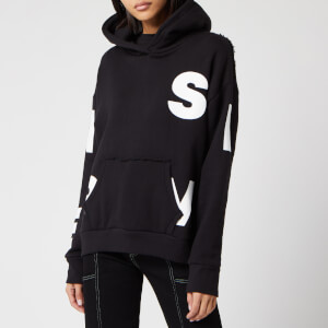 Simon Miller Women's Boise Hoodie - Black/White Block Screen