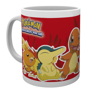 Fire Partner Pokémon Mug