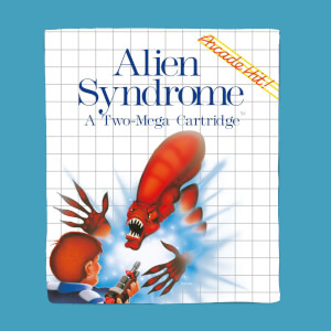 Plaid SEGA Alien Syndrome