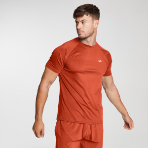 Printed Training Short Sleeve T-Shirt för män – Svart