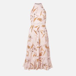 Ted Baker Women's Floxyy Cabana Halterneck Dress - Pink