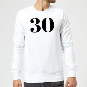 30 Sweatshirt - White