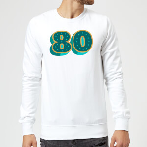 80 Dots Sweatshirt - White