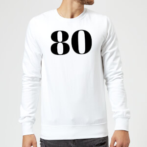 80 Sweatshirt - White