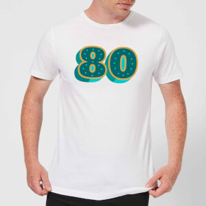 80 Dots Men's T-Shirt - White