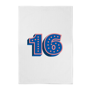 16 Dots Cotton Tea Towel