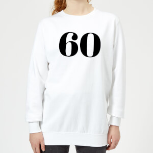 60 Women's Sweatshirt - White