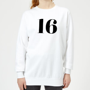 16 Women's Sweatshirt - White