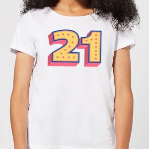 21 Dots Women's T-Shirt - White