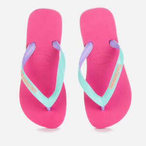 Havaianas Kids' Top Mix Flip Flops - Hollywood Rose