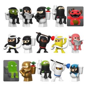 Figura Misteriosa Funko Paka Paka - Toilet Ninjas(x1)