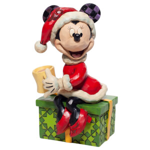 Disney Traditions Minnie Mouse with Hot Chocolate Figurine 5cm
