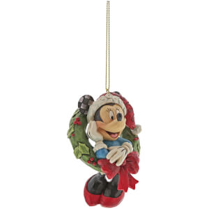 Disney Traditions Minnie Mouse Hanging Ornament 8cm