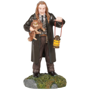 Harry Potter Village Filch™ and Mrs. Norris™ 8cm