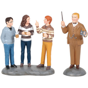 Harry Potter Village Professor Slughorn and His Students 7cm
