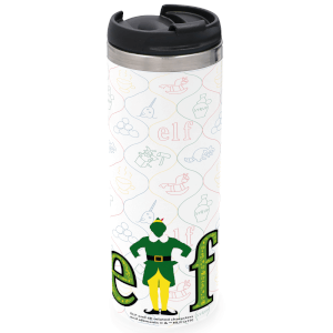 Elf Stainless Steel Thermo Travel Mug - Metallic Finish