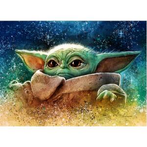 "Litografía Star Wars The Mandalorian ""Highest Bounty"" de Adam Schickling"