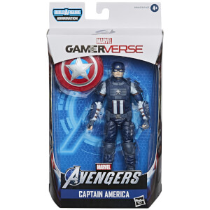 Figura de acción Capitán Améria - Hasbro Marvel Legends Series Gamerverse